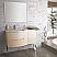 43 inch Modern Floating Bathroom Vanity Sand Finish
