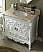 40 inch Adelina Antique Bathroom Vanity Beige Marble Top