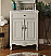26 inch Adelina Cottage Bath Vanity Crystal White Marble Top