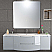 67 inch Modern Floating Bathroom Vanity Grey Finish