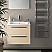 24 inch Modern Wall Mounted Bathroom Vanity Send Glossy Finish