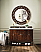 48 inch Single Bathroom Vanity Amber Finish with Optional Top