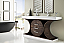 73 inch Modern Rustic Bathroom Vanity Sink Top