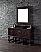 60 inch Single Bathroom Vanity Cabinet Birch with Oak Veneer