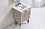24 inch Nature Wood Modern Bathroom Vanity Quartz
