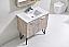 36 inch Nature Wood Modern Bath Vanity Quartz Top and Matching Mirror