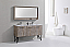 60 inch Nature Wood Double Sink Bathroom Vanity with Quartz