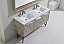 60 inch Nature Wood Double Sink Bathroom Vanity Quartz