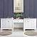 103 inch Transitional Double Bathroom Vanity Marble Top
