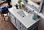 "Issac Edwards Collection 48"" Single Vanity, Silver Grey with top options  top2"