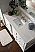 """Isaac Edwards Collection 60"""" Single Vanity, Bright White"""