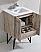 24 inch Nature Wood Modern Bathroom Vanity Quartz open