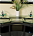 """Fresca Unico Collection 63"""" Modern Double Bathroom Vanity with Faucet and Linen Cabinet Option"""