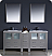 """Fresca Torino 72"""" Modern Double Sink Bathroom Vanity with Color, Faucet and Linen Side Cabinet Option"""