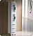 """Fresca Torino 42"""" White Modern Bathroom Vanity with Faucet and Linen Side Cabinet Option"""