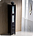 """Fresca Torino 84"""" Espresso Modern Double Sink Bathroom Vanity Vessel Sinks with Faucet and Linen Side Cabinet Option"""