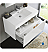 "Fresca Mezzo 36"" White Wall Hung Modern Bathroom Vanity with Faucet, Medicine Cabinet and Linen Side Cabinet Option"