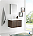 """Fresca Vista 30"""" Walnut Wall Hung Modern Bathroom Vanity with Faucet, Medicine Cabinet and Linen Side Cabinet Options"""