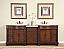 Silkroad Double Sink Vanity HYP-0213LMR