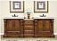 Silkroad Double Sink Vanity HYP-0907LMR