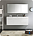 "Fresca Vista 60"" White Wall Hung Modern Bathroom Vanity with Faucet, Medicine Cabinet and Linen Side Cabinet Option"