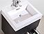 """Modern Lux 24"""" Gray Oak Wall Mount Modern Bathroom Vanity"""