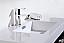 """Modern Lux 40"""" Gray Oak Wall Mount Modern Bathroom Vanity"""