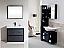 """Modern Lux 36"""" Gray Oak Free Standing Modern Bathroom Vanity"""