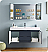 """Fresca Valencia 48"""" Wall Hung Modern Bathroom Vanity with Medicine Cabinet, and Color, Faucet Option"""