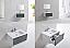 """Modern Lux 30"""" Ocean Gray Wall Mount Modern Bathroom Vanity"""