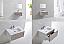 """Modern Lux 30"""" Nature Wood Wall Mount Modern Bathroom Vanity"""