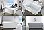 "Modern Lux Free Standing Bathtub - 59"", 63"", 67"""