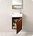 Fresca Pulito Teak Modern Bathroom Cabinet
