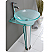 Fresca Vitale Modern Glass Bathroom Vanity Sink