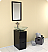 "Freca Brilliante 17"" Modern Bathroom Vanity"