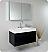 Fresca Mezzo Black Modern Bathroom Vanity