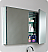 Fresca Mezzo Black Modern Bathroom Mirror
