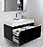 Fresca Mezzo Black Modern Bathroom Cabinet