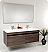 Fresca Largo Gray Oak Modern Bathroom Vanity