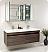 Fresca Largo Gray Oak Modern Bathroom Mirror