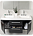 Fresca Opulento Black Modern Cabinet