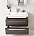 Fresca Medio Gray Oak Modern Bathroom Cabinet
