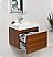 Fresca Nano Teak Modern Bathroom Cabinet