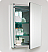 Fresca Nano Gray Oak Modern Bathroom Mirror