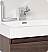 Fresca Nano Gray Oak Modern Bathroom Faucet