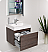 Fresca Nano Gray Oak Modern Bathroom Cabinet