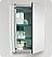 Fresca Nano Black Modern Bathroom Mirror