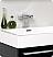 Fresca Alto Black Modern Bathroom Faucet