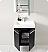 Fresca Alto Black Modern Bathroom Cabinet
