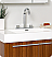 Fresca Vista Teak Modern Bathroom Fauset